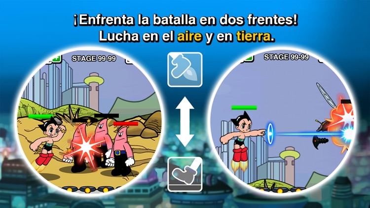 Asedio Astro Boy: Ataque Alien screenshot-4