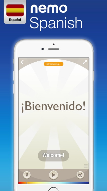 Spanish by Nemo – Free Language Learning App for iPhone and iPad screenshot-0