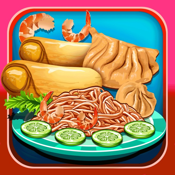 A Chinese Food Maker & Cooking Game - fortune cookie making game!