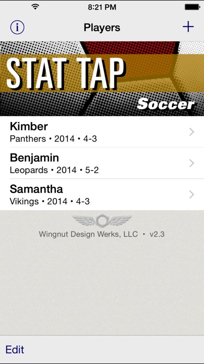 Stat Tap Soccer screenshot-0