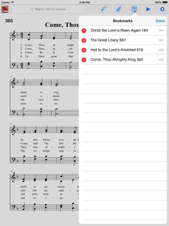 Episcopalian Hymnal screenshot-3