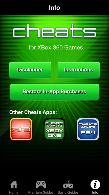Cheats for XBox 360 Games - Including Complete Walkthroughs screenshot-4