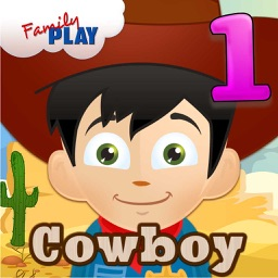 Cowboy Kid Goes to School: First Grade Learning Games