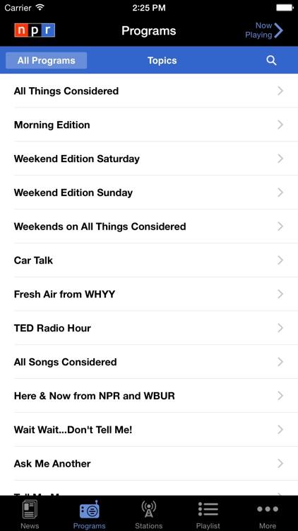 NPR News screenshot-4