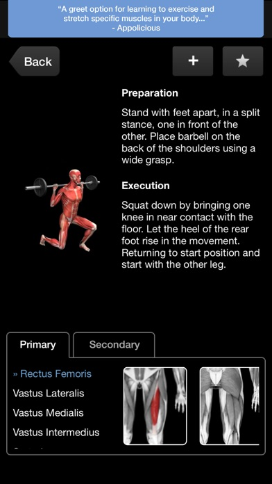 iMuscle - iPhone edition Screenshot 3