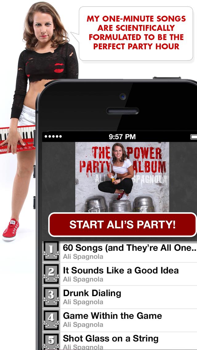 Ali's Power Album: Hour Party Playlist Maker-4