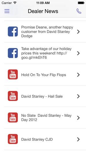 David Stanley Chrysler Jeep Dodge DealerApp On The App Store