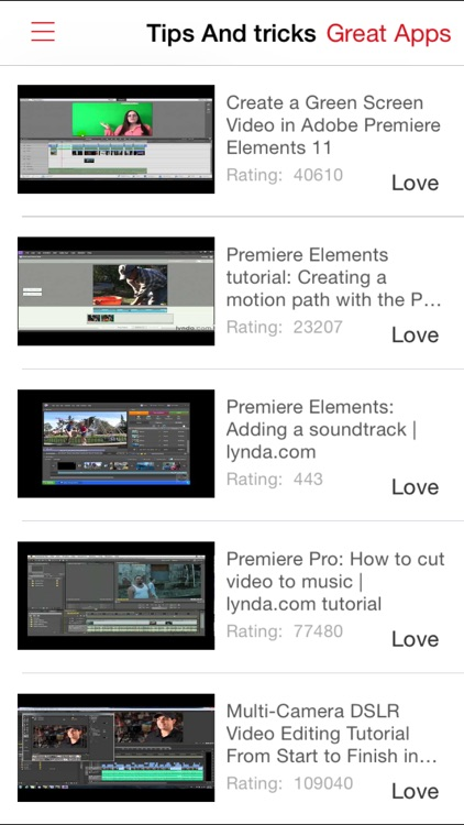 Videos Training For Premiere Elements screenshot-2