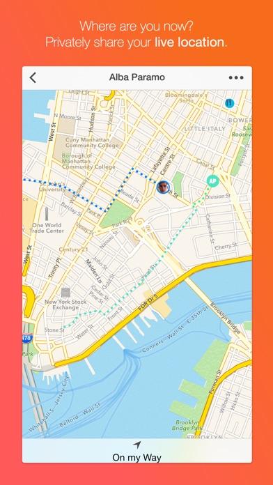 Dasher Messenger - GIF-Messaging, Gruppen-Chat, Standortfreigabe und mehr.Screenshot von 4