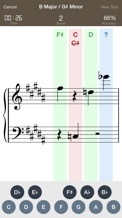 B Flat - Sight Reading