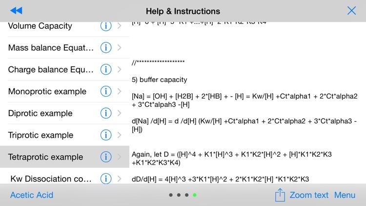 Titration 1.0 screenshot-4