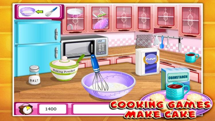Cooking Games:Make Cake screenshot-3