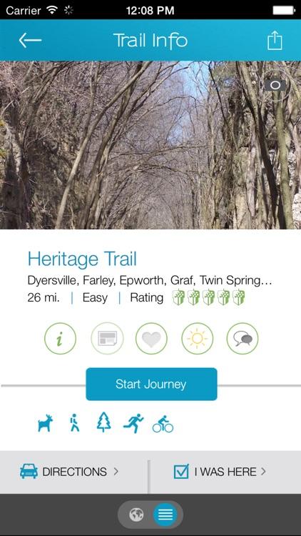 Iowa By Trail