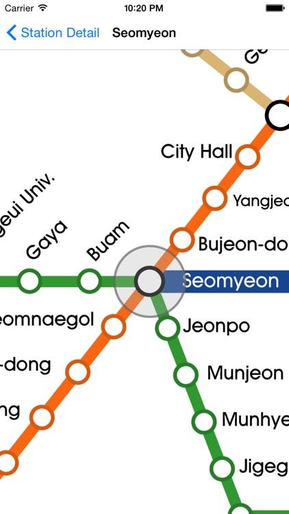Busan City Metro - South Korean Subway Guide