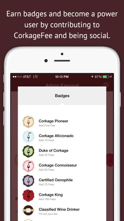 CorkageFee - Find BYOB Fees for Wine @ Restaurants screenshot-3