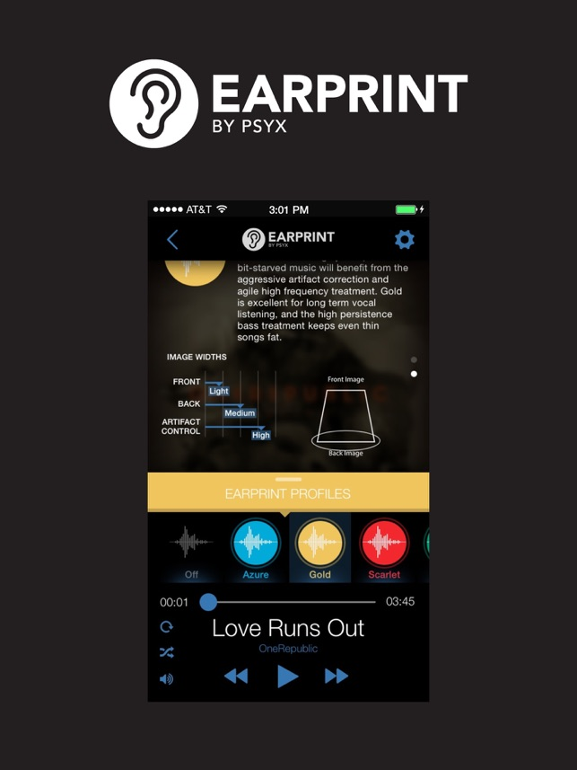 earprint by psyx on the app store