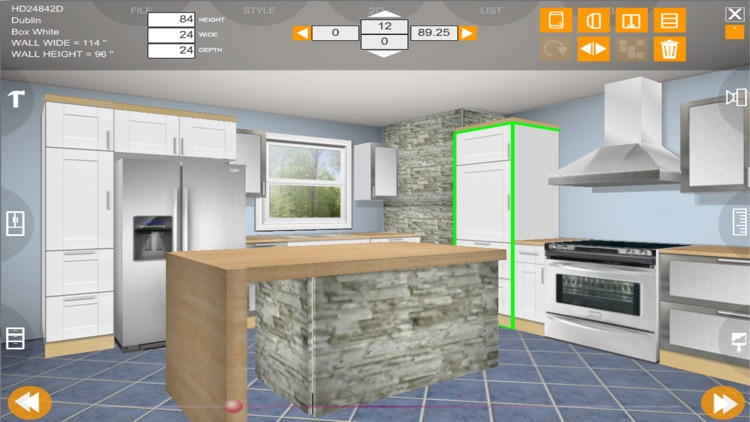 Kitchen 3D eurostyle screenshot-4