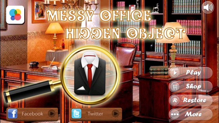 Messy Office -Hidden Objects For Fun