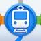簡単に素早く電車の乗換を調べることに特化した乗換案内アプリです。