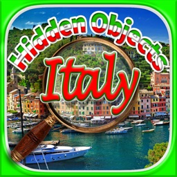 Hidden Objects - Italy Adventure & Object Time Puzzle Games