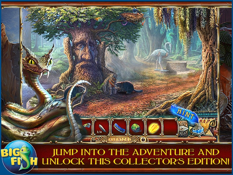 Forgotten Books: The Enchanted Crown HD - A Hidden Object Story Adventure screenshot-3