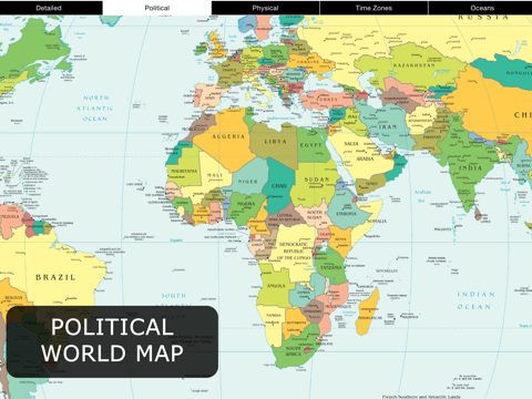 World Map for iPad FREE | App Price Drops