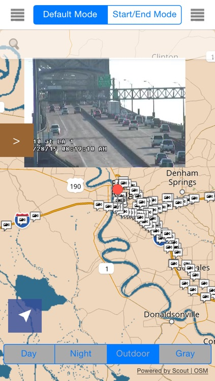 Louisiana Traffic Map.Louisiana New Orleans Offline Map With Real Time Traffic Cameras Pro