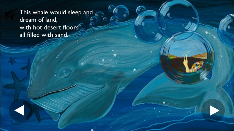 a Whale Who Dreamt of a Snail - a Bedtime Story of Oneness screenshot-1