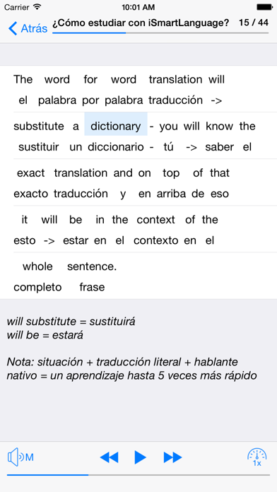 Inglés cotidiano screenshot three
