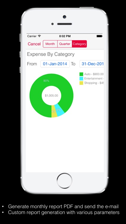 Expense Tracker Pro : Manager for Home budget, accounts and expenses screenshot-4