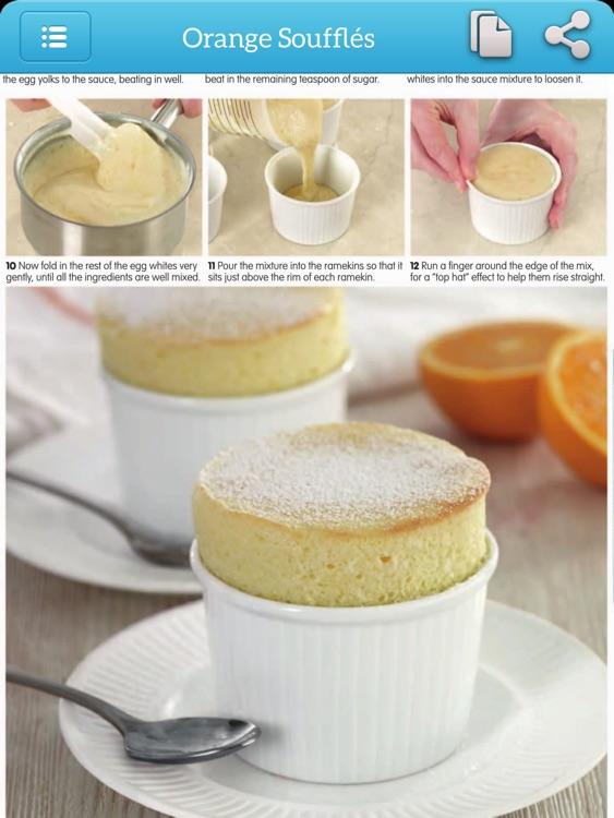 Baking Recipes - Photo Cookbook for iPad