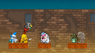 Attack of the Ancients – Knights Fighting Extinct Animal BeastsScreenshot of 5