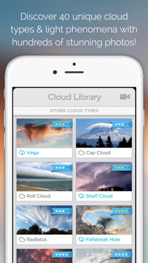 Cloudspotter see the sky with new eyes and discover the fantastic iphone screenshots fandeluxe Choice Image