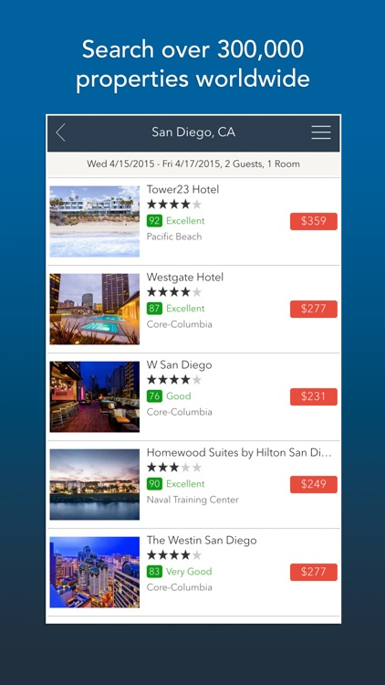 Room 77 - Hotel Search and Price Comparison screenshot-0