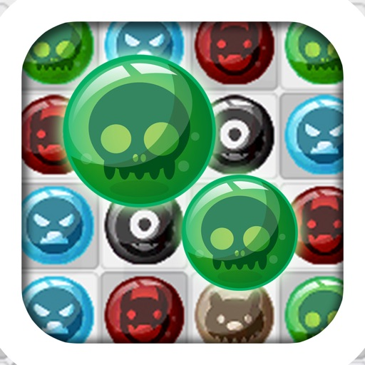 A Monster Match Mania: Creepy Creature Edition - FREE