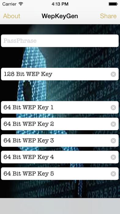 WepPro- WiFi Passwords for iOS 8のおすすめ画像1