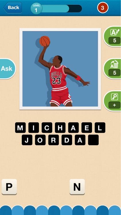 Hi Guess the Basketball Star screenshot-3