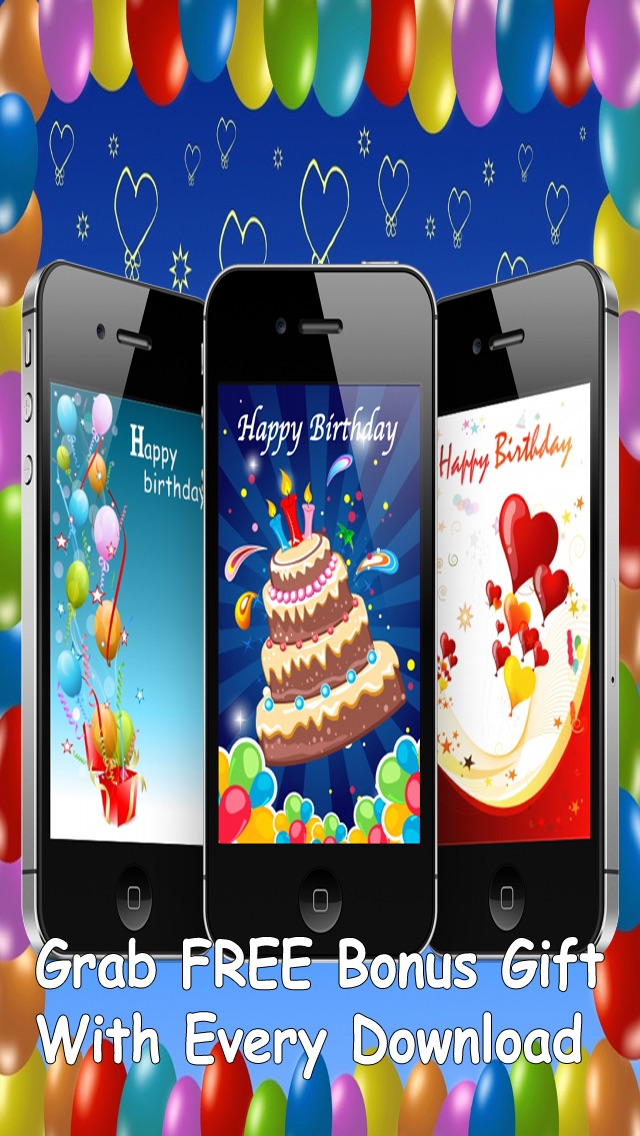 Custom And Screenshot 6 For The Ultimate Happy Birthday Cards Pro Version