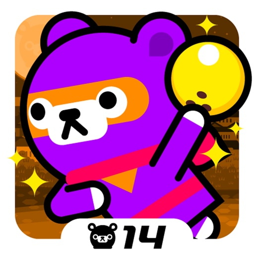 Bowling Ninja - Tappi Bear