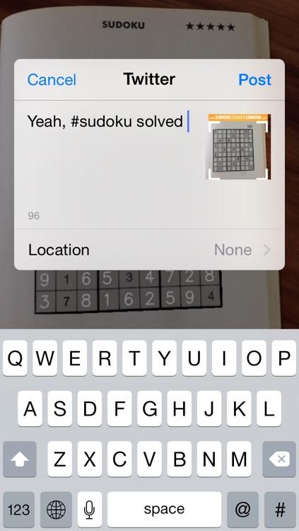 Sudoku Solver Camera screenshot-4