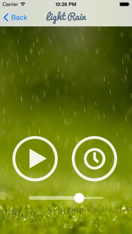 Rain Sound for Meditation and Sleep screenshot-3