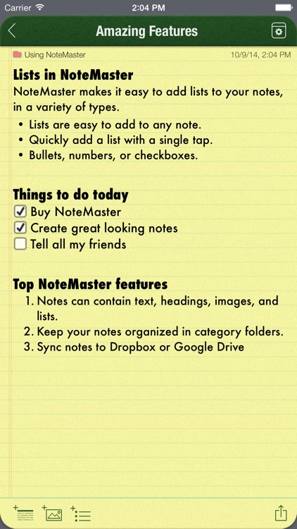 NoteMaster screenshot-1