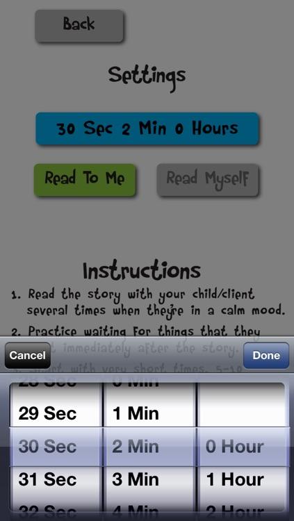 Wait Timer – Social Story & Visual Timer Tool screenshot-4