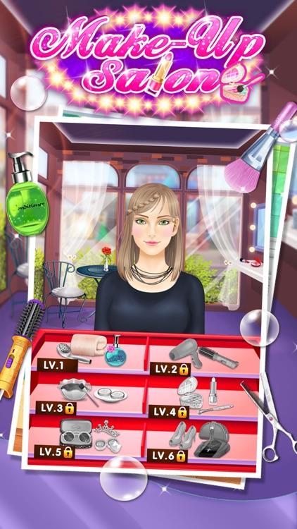 Makeup Salon - Girls Games screenshot-4