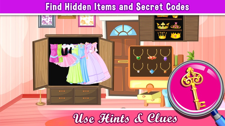 A Princess Hollywood Hidden Object Puzzle - can u escape in a rising pics game for teenage girl stars screenshot-2