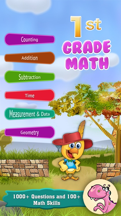 Grade 1 Math - Common Core State Standards Education Safari Game [FULL]