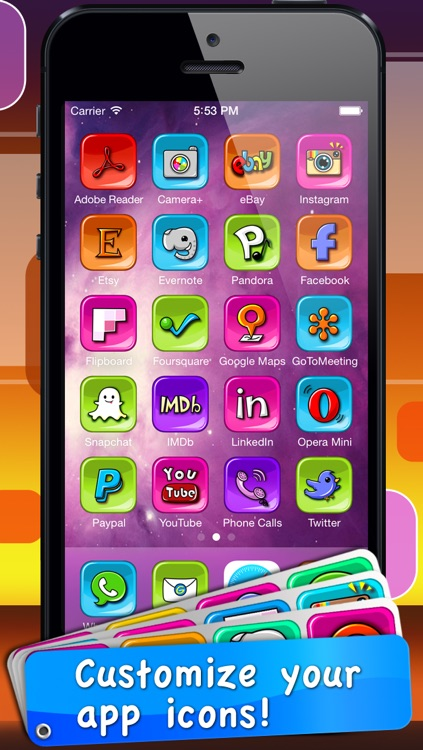 App Icon Skins - Shortcut for your app on home screen