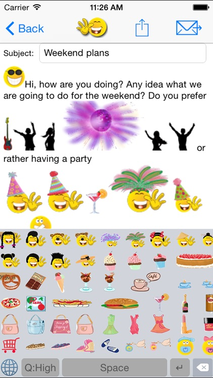 sMaily free  - the funny smiley icon email App with Stickers for WhatsApp