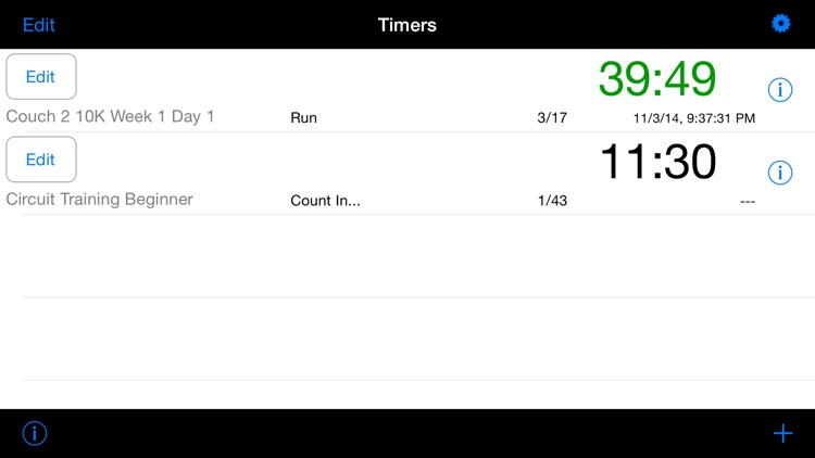 FlexiTimer Interval Timer (Running, HIIT, Circuits, Tabatas, Rounds, Weight Training etc.)