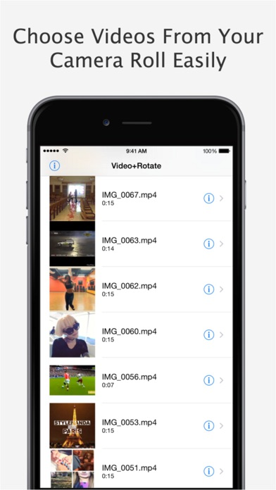 Video+Rotate & Flip Pro - for iPhone, iPod touch and iPad Screenshot 2